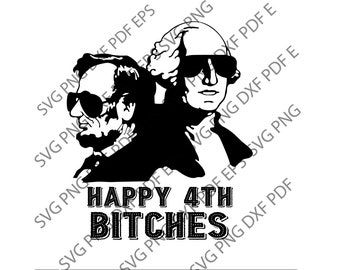 e8f388a7e67195 Happy 4th bitchches svg, Fourth 4th of July, USA Memorial Day svg, USA flag  svg,