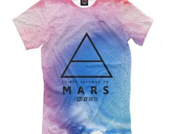 2f8e2feb Thirty Seconds To Mars T-shirt, Rock Band Shirt, Men's Women's All Sizes