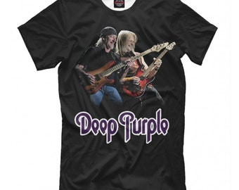 3d80e48dda806 Deep Purple Graphic T-shirt
