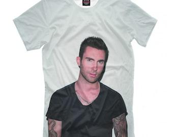 a02b8455 Adam Levine T-shirt, Maroon 5 3D Full Print Shirt, Men's Women's Tee, All  Sizes