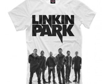 02dd94c63 Linkin Park T-shirt, Chester Bennington Rock Band 3D Full Print Shirt, Men's  Women's All Sizes