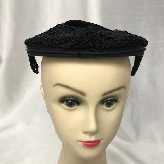 vintage hat Bibi hat