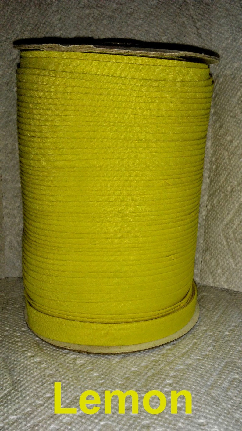 100 Yard Roll Bias Tape PolyCotton Blend 12 Inch Double Fold