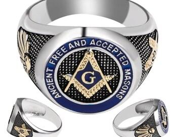 c0074a5a45e02 Masonic earrings | Etsy
