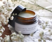 Witches flying ointment Mugwort salve Witches balm Lemon grass , Woodworm salve