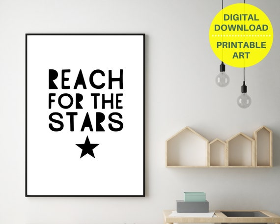 PRINTABLE inspirational quote poster, gift for teen, teen black and white room decor, teens encouragement quote print, positive wall art