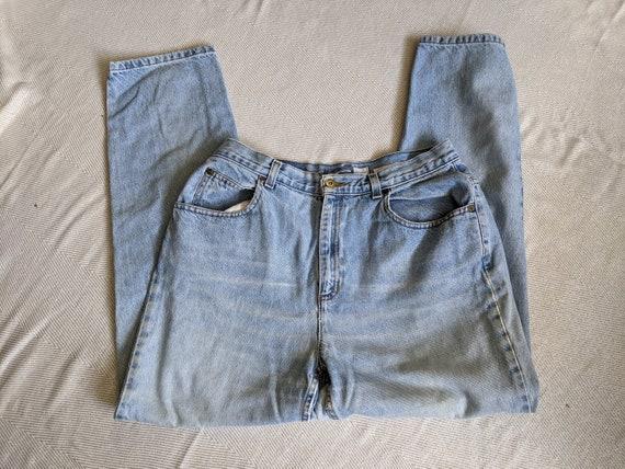 90's Liz Claiborne Mom Jeans/light wash mom jeans