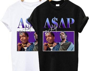 9e63cce23db5 Asap Rocky t shirt, Asap Rocky tshirt, Asap Rocky shirt, Asap Rocky tee, Asap  Rocky clothing size S-2XL