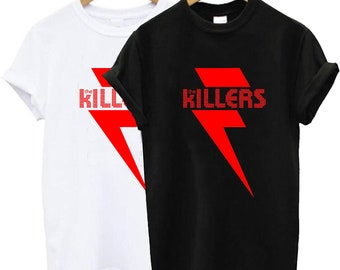 official photos db23f 8d00e The Killers Red Bolt t shirt, The Killers t shirt, The Killers tshirt, The  Killers shirt, The Killers clothing size S-2XL