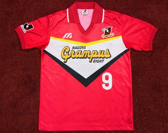 bd073369c Vintage J-League Nagoya Grampus Eight Home Shirt Season 1991-1992 #9