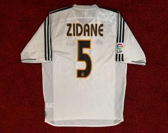 best service 8666e 3a301 Zidane jersey | Etsy