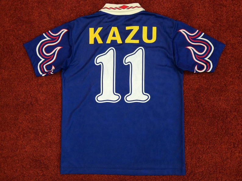 the best attitude 3b215 d7b72 Vintage Japan Home Jersey Maglia Trikot Shirt 1997 with