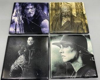"""Walking Dead 4.25"""" Tile Coasters"""