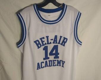 05e3a90b9ec Fresh Prince of Bel-Air  14 Will Smith Bel-Air Academy Basketball Jersey  (Medium Size)