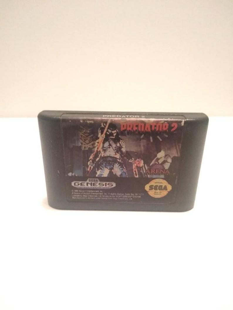 1992 Sega Genesis Predator 2 Video Game