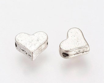 925 Sterling Silver Beads 5 Sterling Silver 5mm Heart Beads BM15