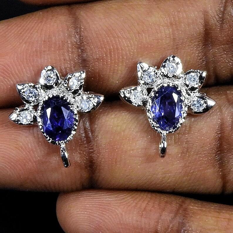 Silver Earrings,Wedding Earrings,Engagement Earrings,Anniversary Earrings,Silver Plated Earrings,Stud Earrings,Earrings,Free Shipping,