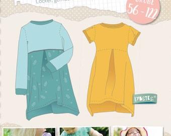 Paper Sewing Pattern Lybstes Basic Dress Juna