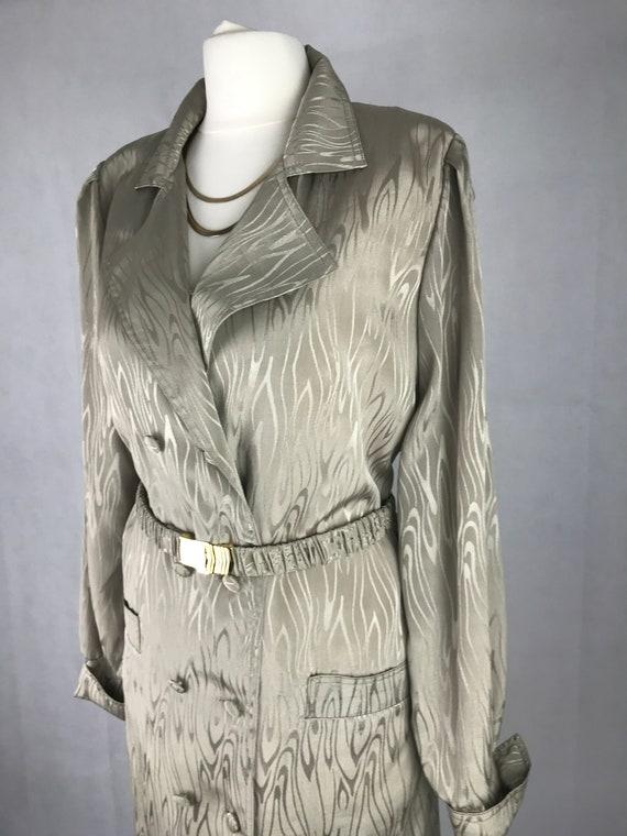 Vintage 80's zebra dress