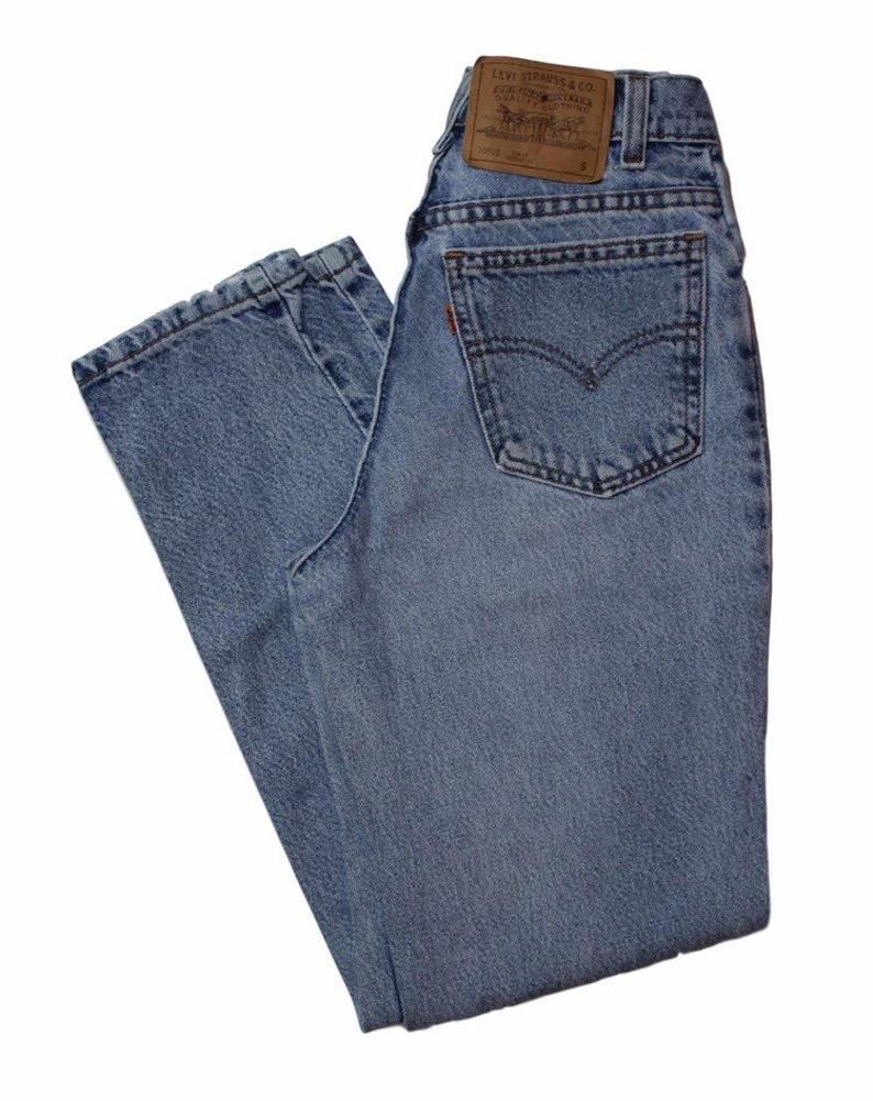 1f192ec7 25 Waist Levis 912 Orange TabTapered Leg Slim Fit Vintage   Etsy