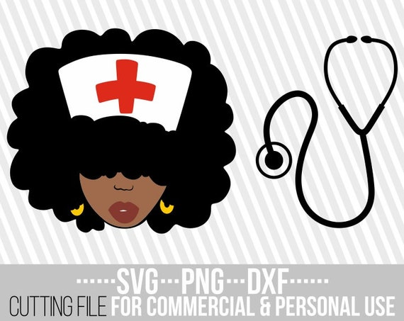 Black girl with afro clipart