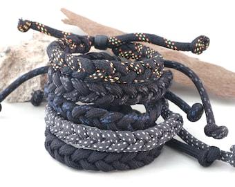 Adjustable Bracelet, unisex bracelet, braided cord bracelet, paracord bracelet, unisex bracelet, bracelet for man woman, friendship bracelet