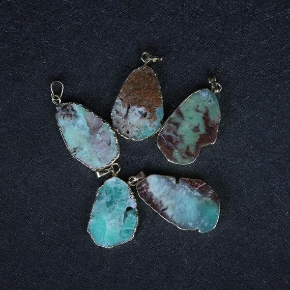 1pc  Natural Agate Druzy Connector Single Bails,Lovely Elephant Agate Pendants Bracelet DIY Jewelry Wholesale