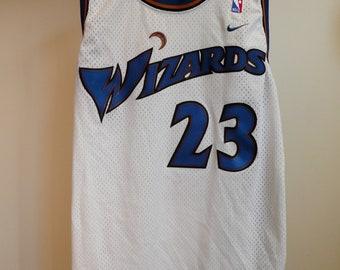 95e9224b1f2 Vintage Nike NBA Wizards Michael Jordan Jersey