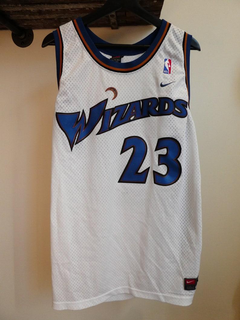 296321d2 Vintage Nike NBA Wizards Michael Jordan Jersey   Etsy