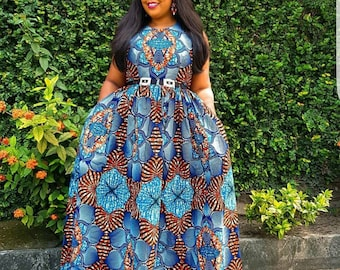 469984f5aa227 African Plus Size dress,African Plus size Fashion,African clothing for women,Ankara  dress,Ankara fashion,African dress,African maxi dress