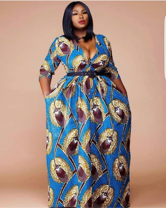 African Plus Size dresses,African Plus size Fashion,African clothing for  women,Ankara dress,Ankara fashion,African dress,African maxi dress