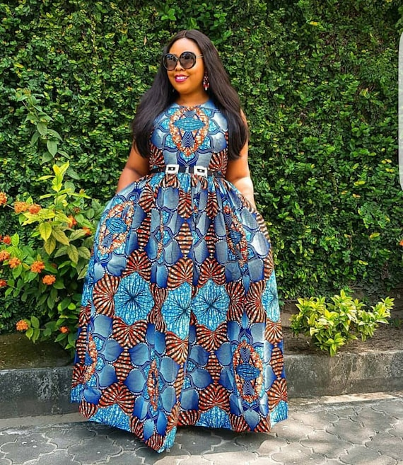 African Plus Size dress,African Plus size Fashion,African clothing for  women,Ankara dress,Ankara fashion,African dress,African maxi dress