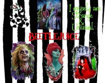 Beetlejuice Digital Etsy