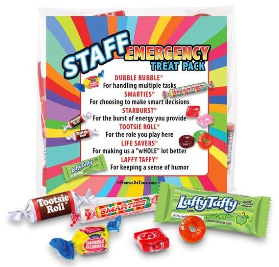 Staff Emergency Treat Pack Survival Kits Employee & Staff