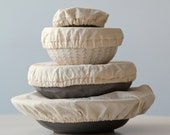 Linen Reusable Bowl Covers | Eco friendly gift