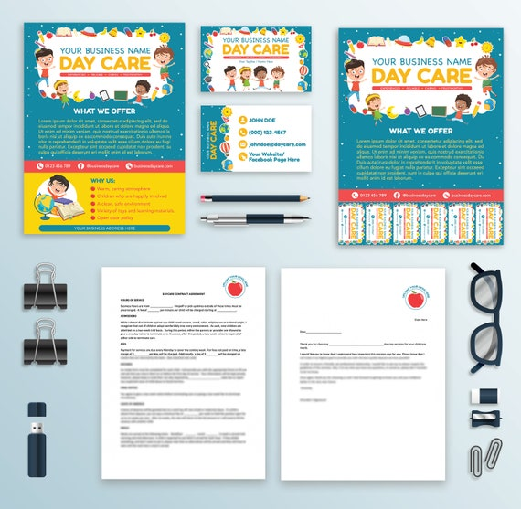 It is a photo of Free Printable Daycare Flyers with mother