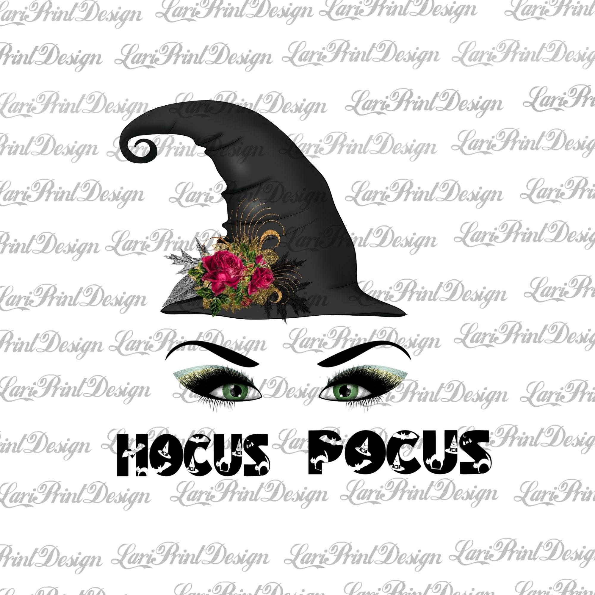 Hocus Pocus PNG, instant download, sublimation graphics, clipart