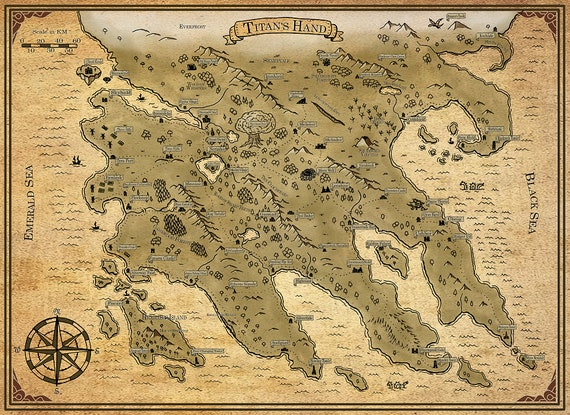 Titan's Hand | Fantasy World Map, Digital Download, Printable, fiction, on mythological world map, webkinz world map, world system map, ancient language map, sick world map, perfect society map, futuristic town map, second world map, imagination world map, make believe island map, create your own fictional map, living world map, fictional world map, ideology world map, first law abercrombie map, persistent world map, one piece world map, large world map, negative world map, fictional nation map,
