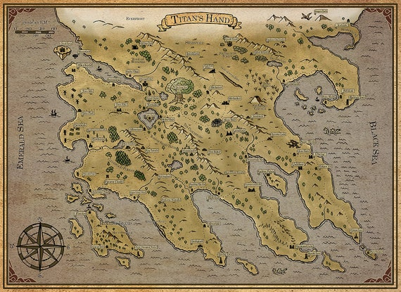 Titan's Hand colored | Fantasy World Map, Digital Download, Printable, on mythological world map, webkinz world map, world system map, ancient language map, sick world map, perfect society map, futuristic town map, second world map, imagination world map, make believe island map, create your own fictional map, living world map, fictional world map, ideology world map, first law abercrombie map, persistent world map, one piece world map, large world map, negative world map, fictional nation map,