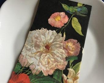 Individual Paper Decoupage Napkin Unique Creative Design Collection 152