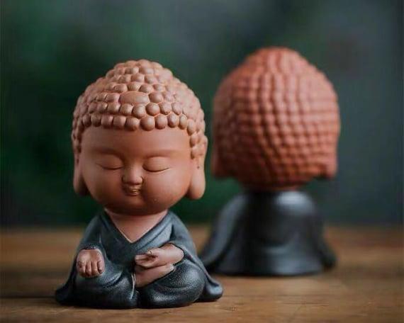 Small Buddha Statue Meditating Buddha Mindfullness Gift Etsy