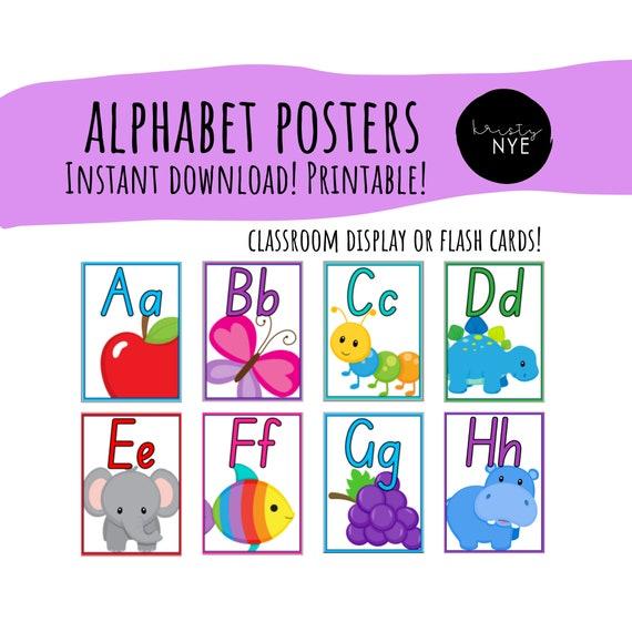 Alphabet letters a z printable Free Printable
