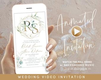 Wedding invitation video Invitation Custom Wedding invitation Custom Video Invitation Wedding Video Invitation Wedding Memories Video