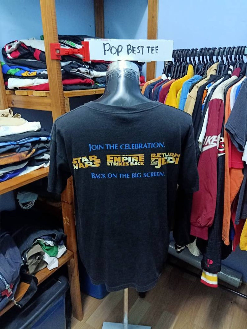 Vintage 90/'s Star Wars Special Edition Tshirt Large size