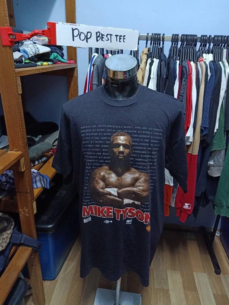 Vintage 90/'s Mike Tyson World Champion Tshirt
