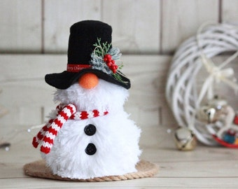 Snowman gnome Winter gnome Christmas gifts