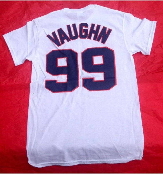 "Rick ""Wild Thing"" Vaughn Cleveland Indians Halloween Costume-Shirt,Pants,Glasses"