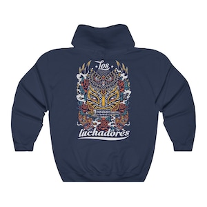 Vintage DROPS LUCHA CARAMELO big spellout logo wrestling sweatshirt pulloverjumperfashionstylestreetwearsportwearwrestling Rare