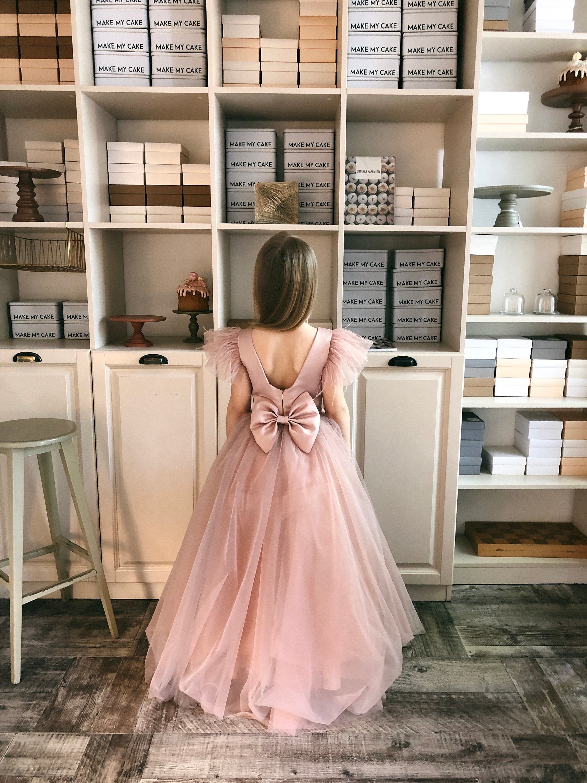 flower girl dress blush, junior bridesmaid dress white, flower girl dress  gold, special occasion girls dress, flower girl dress mauve
