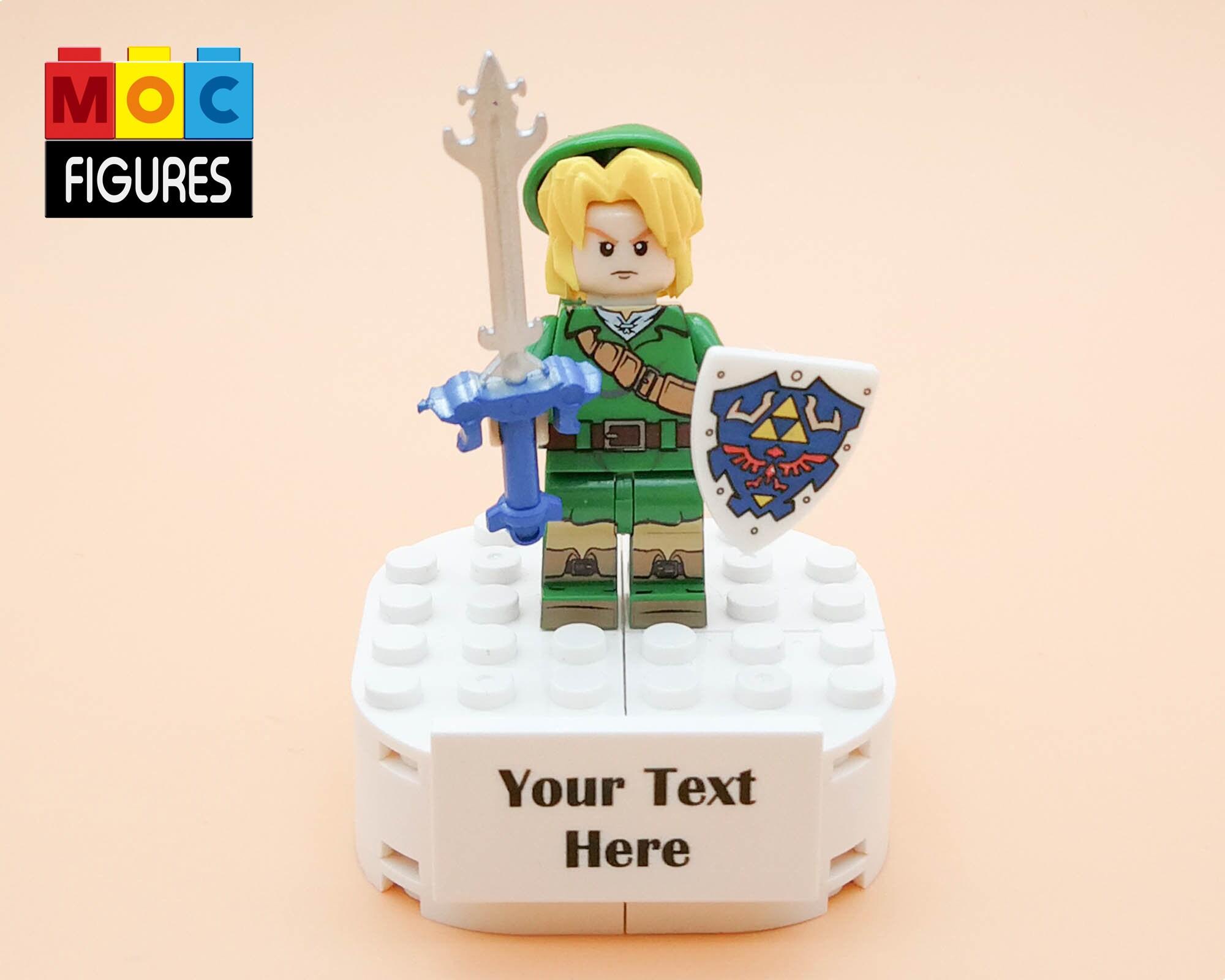 Zelda Link Hyrule minifigures minifig lego compatible